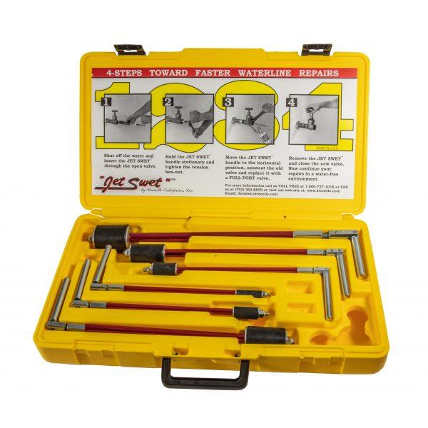 Nerrad Jet Swet Pipe Isolation Tool Set – 6 Piece 15 to 54mm